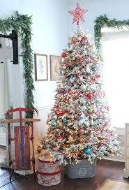 Glass Christmas Tree Ornaments Decorating Ideas Uk
