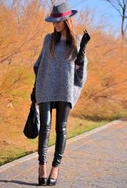 Winter Outfits Black Sweater With Blue Jeans And Pair Of Knee High Boots Kneehighbootsoutfit