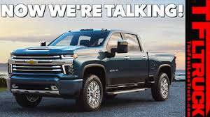 100 Chevy 2500 Truck BREAKING NEWS 2020 Silverado HD High Country Revealed Is It