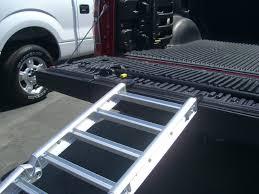 100 Truck Ramp Ready FullSized Bed Extender Silver 100 Open 60 Bed