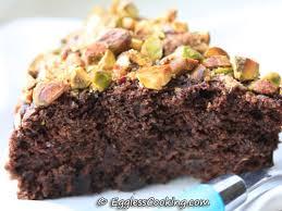 Eggless Chocolate Zucchini Cake