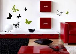 Beautiful Wall Stickers For Room Interior Design With Butterfly 2019 Home Concept