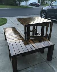 Wooden Pallet Patio Furniture Plans by Outdoor Furniture Ideas Made With Wood Pallets Pallet Wood Projects