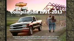 Chevy Silverado Commercial Like A Rock Compilation 1991-2013 - YouTube New 2019 Chevrolet Silverado For Sale Near Broomfield Co Denver Allnew 1500 Commercial Work Truck Gmc Automobile Wikiwand Horses In Ads Chevy Commercial Her Horse Horse This Kcchevy Truck I Saw At A Car Show Today Atbge Vehicle Sales American Success Blog Chevy Honors Truck Ctennial With 3500hd Sale Fringham Ma Herb