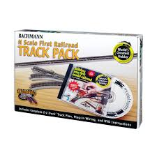 Bachmann Trains World s Greatest Hobby Track Pack N Scale