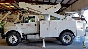 100 Bucket Trucks For Sale By Owner VersaLift VST5000MHI Truck Or Rent Versalift Boom