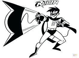 Interesting Batman Beyond Coloring Pages New Robin Free Kids