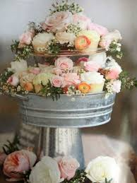 A Cupcake Tier Instead Of Big Cake Is Great Dessert Option For Summer Spring Wedding CupcakesBridal Shower Ideas