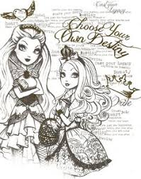 Free Apple Ever After High Coloring Pages For