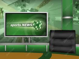 Sport Virtual Studio Set Camera 4 High Resolution