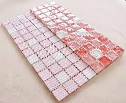 wholesale vitreous mosaic tile glass backsplash washroom