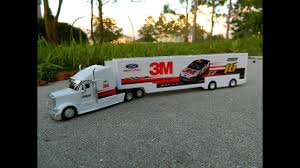 100 Toy Truck And Trailer NASCAR Greg Biffle Nascar Authentics YouTube