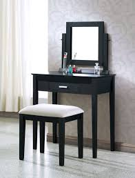 Cheap Vanity Chairs For Bathroom by Furniture Gothic Black Vanity Table With Drawers For Bedroom And