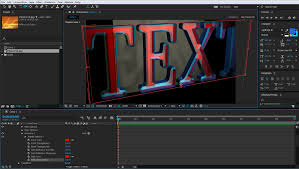 Extruding 3D Text In Adobe After Effects Adobe Education Exchange