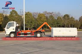 New Style Japan Hooklift Refuse Collection Garbage Truck,Isuzu Sewer ...