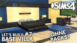 die sims 4 haus bauen ohne packs base villa 7 modernes schlafzimmer