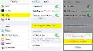 How to delete Safari history and website data on iPhone