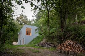 100 Cubic House Holiday House Hides Amongst Trees In The Portuguese