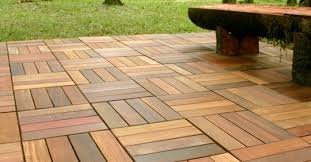 Wood Patio Flooring Endearing Outdoor Patio Floor Covering Home
