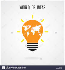 Creative Light Bulb Idea Concept Background Design For Poster Flyer Cover Brochure Business Abstract
