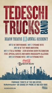 Tedeschi Trucks Band Confirms Support Acts For 2017 Beacon Theatre ... Tedeschi Trucks Band At Beacon Theatre Zealnyc Headed To Crouse Hinds Theater In Syracuse This Tickets Macon City Auditorium Ga Wheels Of Soul Dates Added Shares Acoustic Just As Strange Video Announce Tour New Kettlehouse Calling Out To You Acoustic Youtube Full Show Audio Videos Photos Brings Wikipedia Tour Dates 2017 2018 The Roots Report Tedeschitrucks Providence Rhode Island Playing Three Shows The Keswick February