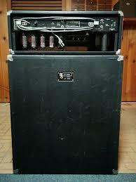 Ampeg V4 Cabinet For Bass by Ampeg V4b With V4 4x12 Cab 1973 Reverb