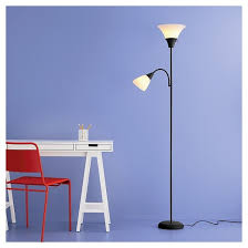 Target Floor Lamp Assembly Instructions by Torchiere Floor Lamp With Task Light Includes Cfl Bulbs Room