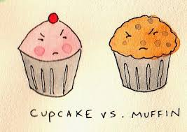 What Is The Difference Between A Muffin And Cupcake