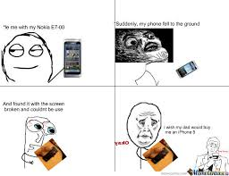 Broken Phone by marcellinus oliver Meme Center