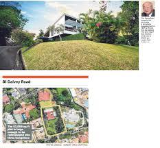 100 Dalvey Road Lim Kim San Estate Sells Rd Bungalow For 49m