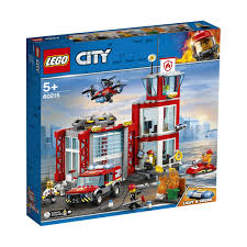 100 How To Build A Lego Fire Truck LEGO City Station 60215 Kmart