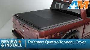 2015-2017 Ford F-150 TruXmart Quattro Tonneau Cover Review & Install ...
