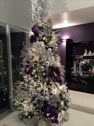 Best Purple And Silver Christmas Tree Decorations Ideas