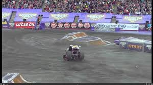 Monster Truck Does An Insane Double Back Flip And NAILS IT Monster Jam Hits Salinas Kion Truck Easily Runs Over Pile Of Junk Cars Bigfoot Stock Video Game Mud Challenge With Hot Wheels Truck Warning Drivers Ahead Trucks Visit Thornton Public The Maitland Mercury Video Raminator Monster Revs Up Crowd At Bob Brady Auto Crush It Nintendo Switch Games Destruction Police 3d For Kids Educational Destroyer Children Running Ripping Redcat Racings Landslide Xte Dennis Anderson Recovering After Scary Crash In The Grave Digger