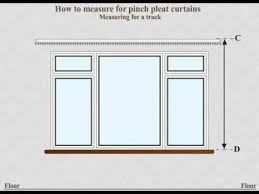 Material For Curtains Calculator by How To Measure For Made To Measure Pinch Pleat Curtains Using A