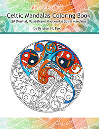 Art Of FoxVox Celtic Mandala Coloring Book