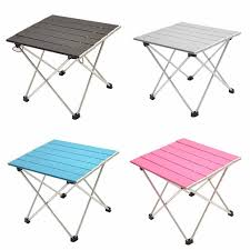 Portable Folding Aluminum Roll Up Table Lightweight Outdoor ... Fold Up Camping Table And Seats Lennov 4ft 12m Folding Rectangular Outdoor Pnic Super Tough With 4 Chairs 120 X 60 70 Cm Blue Metal Stock Photo Edit Camping Table Light Togotbietthuhiduongco Great Camp Chair Foldable Kitchen Portable Grilling Stand Bbq Fniture Op3688 Livzing Multipurpose Adjustable Height High Booster Hot Item Alinum Collapsible Roll Up For Beach Hiking Travel And Fishing Amazoncom Portable Folding Camping Pnic Table Party Outdoor Garden