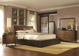 King Platform Bed With Headboard by Complete Platform King Bed With One Storage Drawer By Legacy