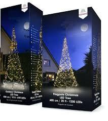 Flagpole Christmas Tree Led New Box Topper