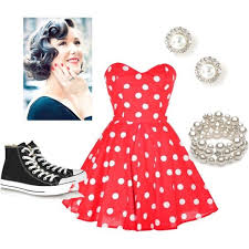50s Inspired Clothing Fashion Dresses