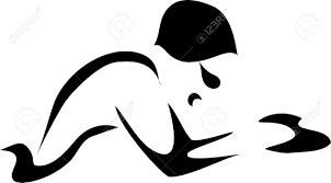 Breaststroke Swimmer Clipart