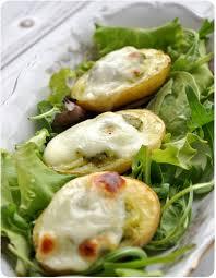 cuisiner des pommes de terre nouvelles pommes de terre nouvelles farcies au pesto pich à la fraise