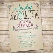 Affordable Vintage Bridal Shower Invitations EWBS040 As Low 094