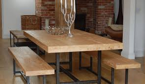 Kmart Dining Room Table Bench by Kitchen Table Square With Bench Set Concrete Assembled 8 Seats