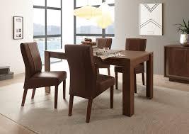 esszimmer set sero mit esstisch 4 stühle eiche cognac 205093