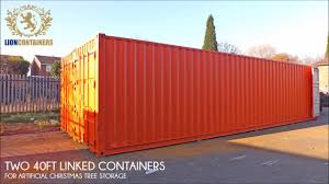 100 Shipping Container 40ft X 16ft Open Space Storage