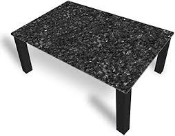 dekoglas couchtisch granit grau glastisch beistelltisch