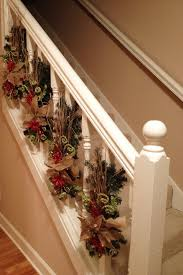 Christmas Banister Decorations. Different From The Standard ... Christmas Decorations And Christmas Decorating Ideas For Your Garland On Banister Ideas Unique Tree Ornaments Very Merry Haing Railing In Other Countries Kids Hangers Single Door Hanger World Best Solutions Of Time Your Averyrugsc1stbed Bath U0026 Shop Hooks At Lowescom 25 Stairs On Pinterest Frontgatesc Neauiccom Acvities 2017