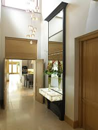 Rustic Hallway Lighting Hall Contemporary With Console Tables Oak Wood