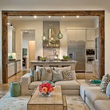 Best Floor For Kitchen And Living Room by Best 25 Kitchen Open To Living Room Ideas On Pinterest Half